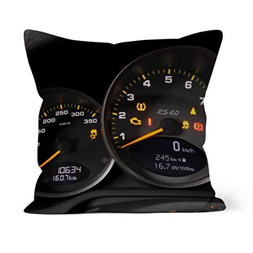 fotobar!style Motivkissen 40 x 40 cm mit Füllung EIN Motiv aus dem Kalender Porsche GT3RS 4,0