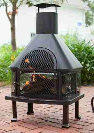 Find Cheap Outdoor Fireplace Firepits for Outside 25 W