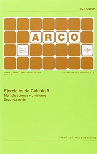 Ejercicios de cálculo. Multiplicaciones y divisiones 2 - Vo