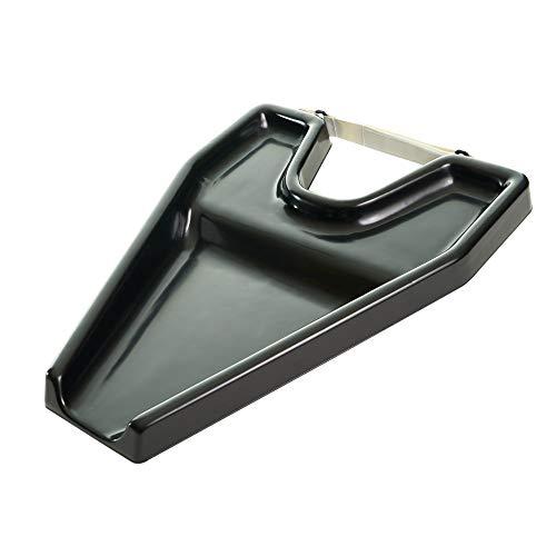 Mobiclinic, Tragbares Haarwaschbecken für Rollstuhl, Schwarz, für ältere und behinderte Menschen
