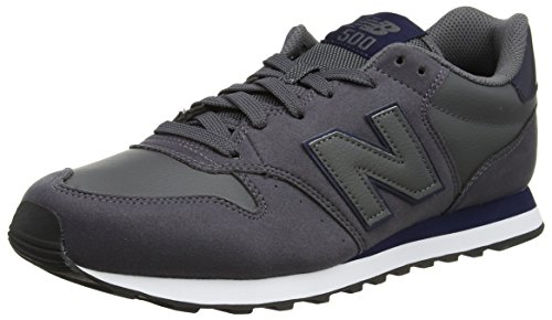 New Balance, Herren Sneaker, Grau (Dark Grey/Navy Dgn), 42 EU (8 UK)