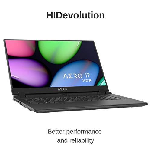 Compare HIDevolution Gigabyte AERO 17 HDR (A17-SA-7US4020SH-13) vs other laptops