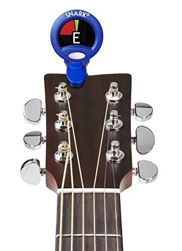 SNARKチューナーギター・ベース・ウクレレ用クリップ型クロマチックチューナーSN-1Xブルー