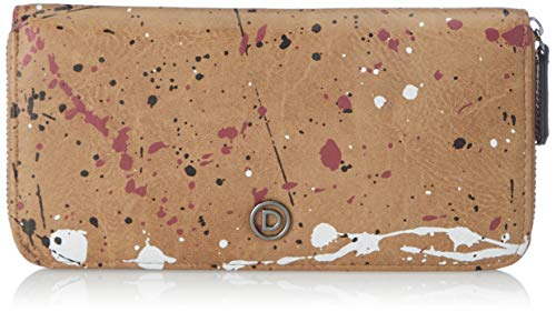 Desigual Accessories PU Long Wallet, Largo Walet. para Mujer, marrón, U