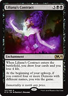 Best liliana's contract mtg Reviews