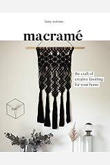 Macramé: The Craft of Creative Knotting Paperback
