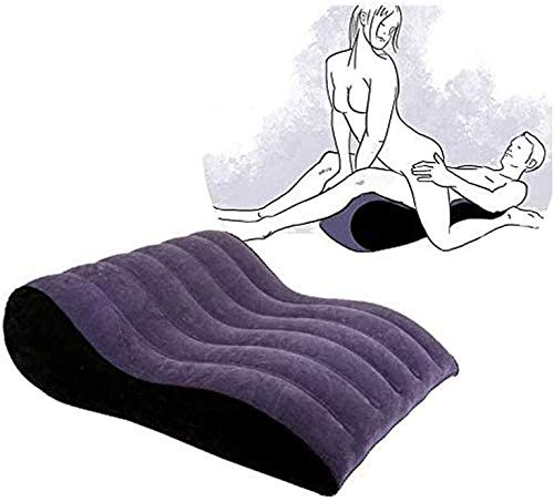 Séx Pillows for Couples Half Moon Cushion Pillow Wedge Cushion Aid with Hole Positioning for Deeper Pẹnẹtrạtion Inflatable Chair Bed Adullt Fitness Equipment Mount Bolster Roll Yoga Pillow Furniture