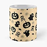 Halloween Party Classic Mug - Novelty Ceramic Cups 11oz, Unique Birthday And Holiday Gifts For Mom Mother Father-teiltspe