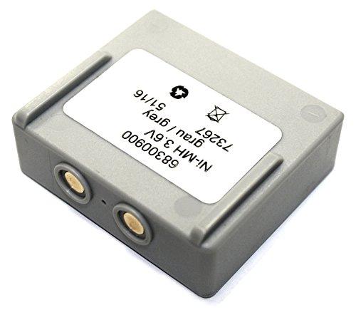 Kranfunk Akku für Hetronic Mini 68300600 68300900 68300940 FBH 300 FBH300 Ni-MH 3,6V typisch 2200mAh (mind. 2100mAh) Accu Batterie