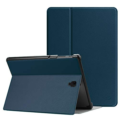 FINTIE Case for Samsung Galaxy Tab S4 10.5 2018 SM-T830/T835, [Slim Shell] Lightweight Multi-Angle Viewing Folio Cover with Protective S Pen Holder Auto Sleep/Wake Feature, Navy