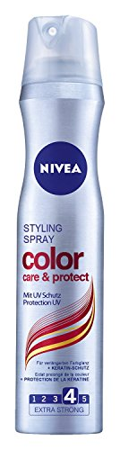 Nivea Styling Spray Color Care & Protect, Haarspray, 3er Pack (3 x 250 ml)