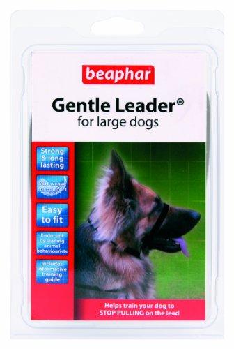 beaphar Gentle Leader/Kopfhalfter Schwarz groß (Boxer, Dobermann)