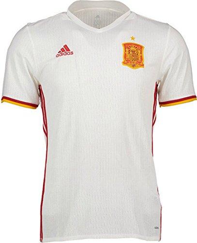 Camiseta Selección Española Away Mundial 2016-2017 White-Red Talla S