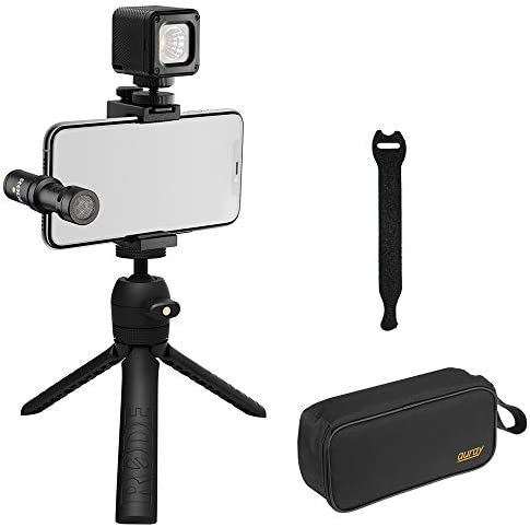 Rode Vlogger Kit USB C Edition Filmmaking Kit with Wide Mouth Case 10 Pack Straps product image