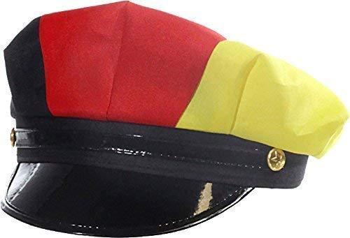 Fan-O-Menal Uniformmütze/Uniformhut - 54612 - Deutschlandfarben