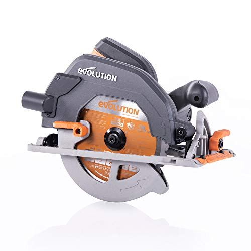 Evolution Power Tools - R185CCS sega circolare multi-materiale 185 mm, 230 V
