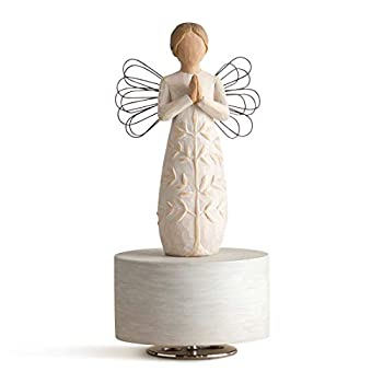 Willow Tree a Tree a Prayer Musical Sculpted Hand-Painted Musical Figure