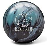 Brunswick Rhino Reactive PRE-DRILLED Bowling Ball- Metallic Blue/Black 14lbs