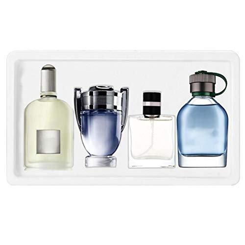 XIAMUSUMMER Caja de Regalo de Perfume para Hombre - Set de Perfume de 4 Piezas - Fragancia Duradera 100 Ml