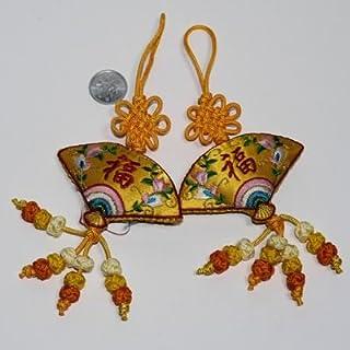 つるし飾り 、  開運 縁起結び飾り お車、お部屋飾りに 中国お土産 中国雑貨多幸屋
