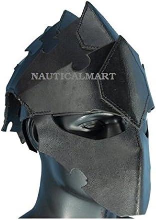 NauticalMart Medieval Leather Popularity Armour Head Helmet Popular product