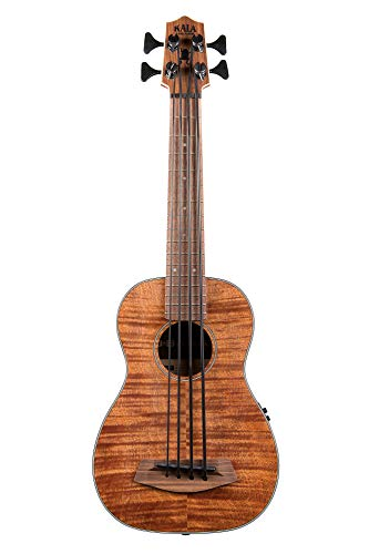 Kala U-Bass exótico caoba - Traste, zurdo