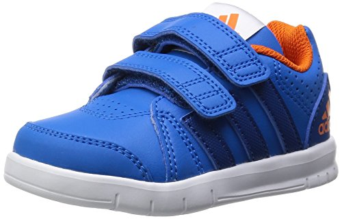 adidas Performance Unisex Kinder LK Trainer 7 Sneaker, Blau (Shock Blue S16/Eqt Blue S16/Orange), 20