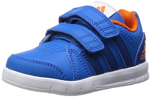 adidas Performance Unisex Kinder LK Trainer 7 Sneaker, Blau (Shock Blue S16/Eqt Blue S16/Orange), 20 EU