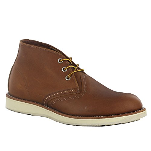 RED WING WORK CHUKKA Enkellaarzen/Low boots heren Cognac Laarzen