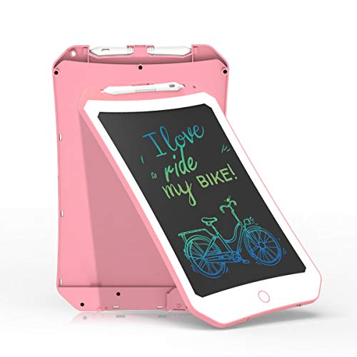 10 inch LCD Writing Tablet VSON colorful Digital Drawing Tablet Handwriting Pads Electronic Drawing Board Handwriting Toy Gift for Kids and Adults(pink)