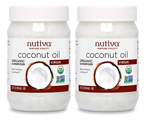 Virgin Coconut Oil Organic, Cold-Pressed,  & Unrefined