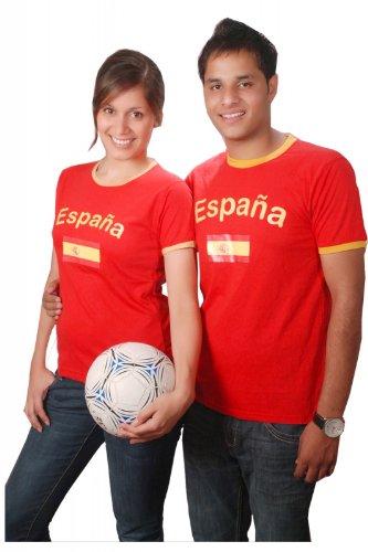 Brubaker Spanien Fan T-Shirt Rot Gr. XXXL