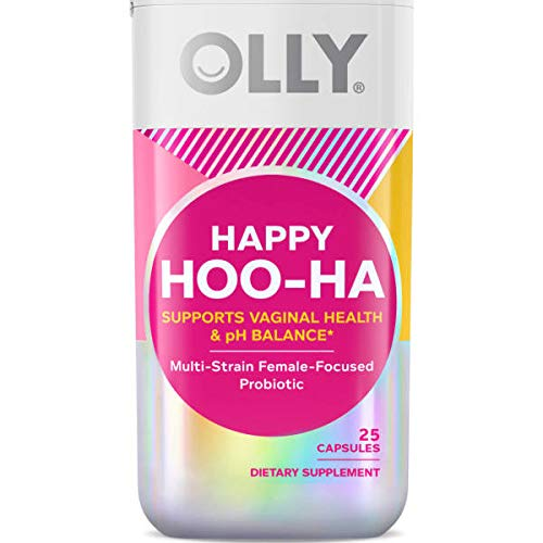 OLLY Happy Hoo-Ha Capsules, Probiotic for Women,...