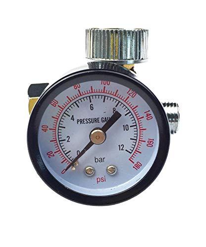 Fahrzeugteile Hoffmann Manometer Druckluftregler für Lackierpistole Regler Werkzeuge KFZ