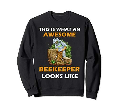Imker Imkerei Honig Wabe Biene Bienenzüchter Sweatshirt