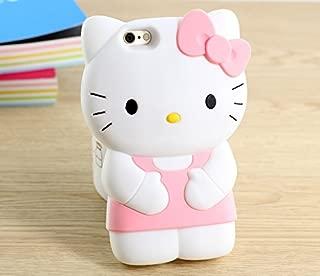 iPhone 7 Plus Case, iPhone 8 Plus Case, Phenix-Color 3D Cute Cartoon Soft Silicone Hello Kitty Gel Back Cover Case for Apple iPhone 7 Plus 2016 / iPhone 8 Plus 2017 Case Amp Prime (58)
