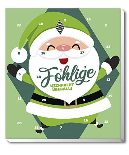 Adventskalender, kerstkalender van je favoriete Bundesliga - en sticker Wij leven voetbal Fairtrade