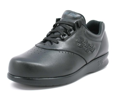 SAS Women's, Free Time Walking Shoe Black 8.5 N