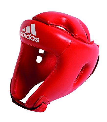 Adidas ROOKIE Kopfschutz Kinder - Farbe: rot Größe: S