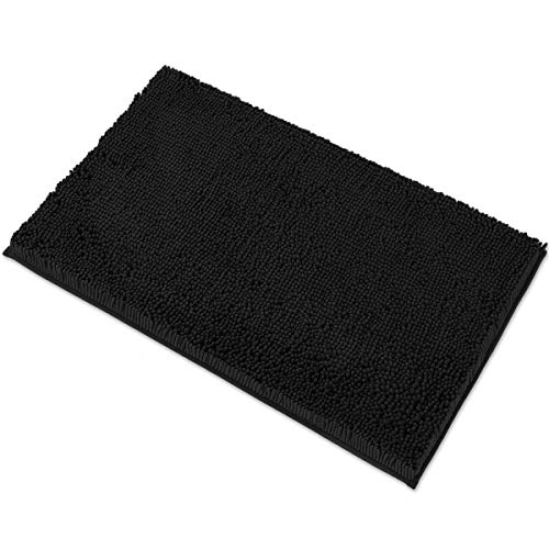 MAYSHINE Chenille Bath Mat for Bathroom Rugs 32' x20', Extra Soft and Absorbent Microfiber Shag Rug,...