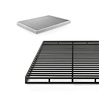 Zinus 4 Inch Low Profile Quick Lock Smart Box Spring / Mattress Foundation / Strong Steel Structure / Easy Assembly, Full (B0725JK2XD) | Amazon price tracker / tracking, Amazon price history charts, Amazon price watches, Amazon price drop alerts