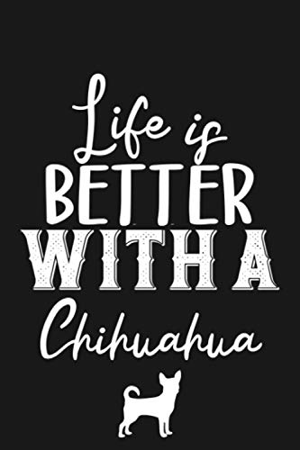 Chihuahua gifts: Chihuahua notebook for Chihuahua dog mom, dad, owner, lover