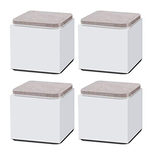Heben Sie Möbel-Aufbrüche Kohlenstoffstahl-Bett-Aufbrüche, Höhe 5CM Elf-Adhesive Hochleistungsmöbel-Aufbrüche Sofaschränke Runde Unterstützungen 1000 Kilogramm An