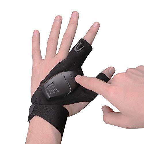 New!DEESEE(TM) Waterproof Night Fishing Glove & LED Light Flashligh Rescue Tool Outdoor Gear