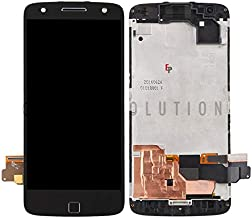 ePartSolution_Replacement Part for Motorola Moto Z Force XT1650-02 LCD Display Touch Screen Digitizer Glass + Frame Assemb...