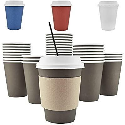 AckBrands Disposable Hot Paper Coffee Cups