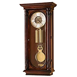 Howard Miller Stevenson II Wall Polished Brass Finish Floor Clock