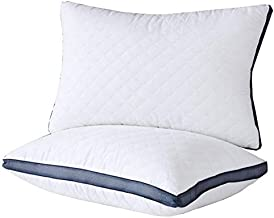 Pillows for Sleeping(2-Pack) , Luxury Hotel Gel Pillow ,Bed Pillows for Side and Back Sleeper (Queen)