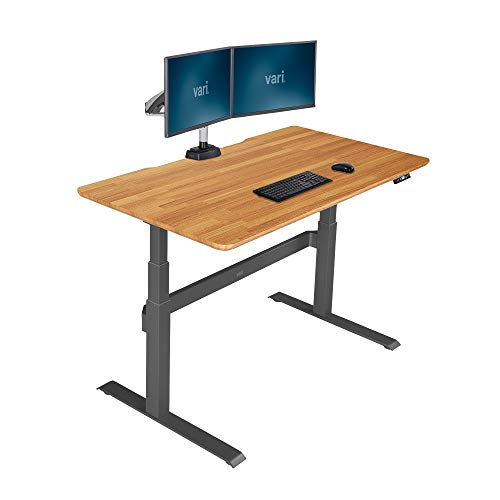 Vari Electric Standing Desk 60 - Sit to Stand Desk - 3 Button Memory Settings