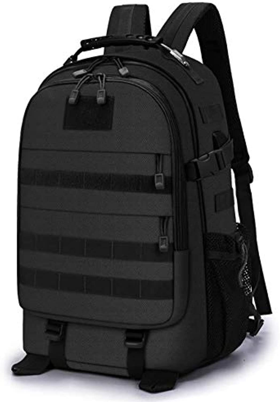 Tactical Bag einfarbig Sport wandertasche Outdoor Bag groe kapazitt multifunktions Wasserdichte Taktische Rucksack mnner und Frauen, A